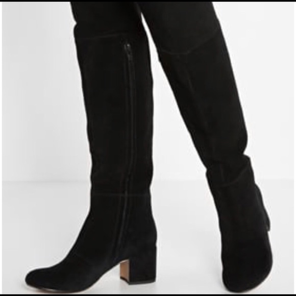 Clarks Shoes   Suede Over The Knee